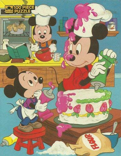 Golden - Walt Disney - Mickey Mouse - Jigsaw Puzzle - 100