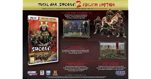 Total War: Shogun 2 Limited Edition: Amazon.es: Videojuegos