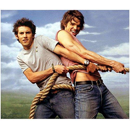 Jared Padalecki 8x10 photo Gilmore Girls Supernatural pulling a rope