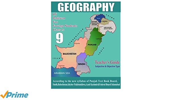 Amazon com: Geography of Pakistan: for foreign students