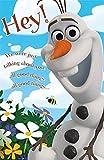 Carte d'anniversaire Disney La reine des neiges Olaf