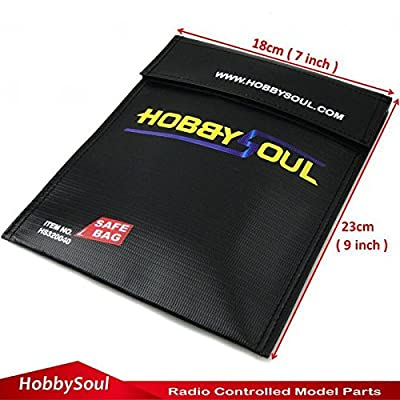 7''x9'' Fireproof pouch Money valuable Document safe bag Fire Resistant material