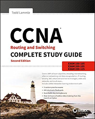ccna routing and switching complete study guide exam 100 105 exam rh amazon com Anatomy Study Guide Chemistry Study Guide