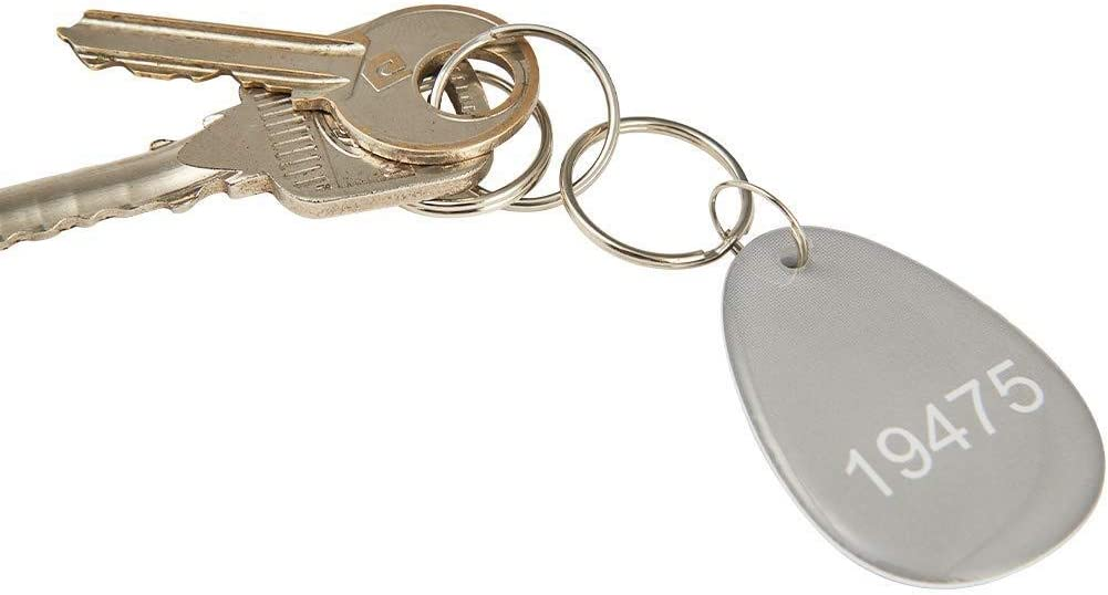 Default Programmed RexID Proximity Key Fob for Access Control System Comparable to Standard 26 bit H10307 Format for Add-On Replacement in Current System