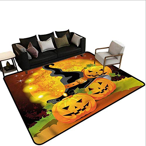 Halloween,Rug Bathroom Mat 36