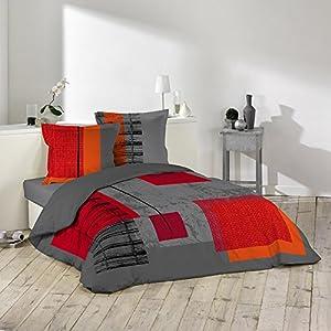 Douceur d interieur 1640987 set di biancheria da letto 240 - Amazon biancheria letto ...