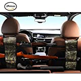 Automotive : Seat Back Gun Rack - Sling Storage Organizer with Pockets For Rifle Hunting - Hunting Gun Organizer Holder Rack Accessories For Hunting Shotgun in Cars Trucks SUV Reed 1 Pair (2 pieces)