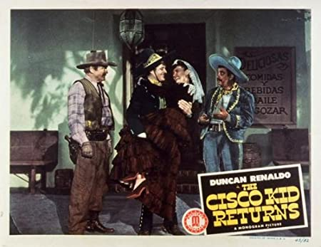 The Cisco Kid Returns POSTER Movie 1945 Style A 11 X 14 Inches