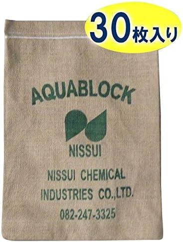 日水化学工業(Nissui Chemical Industries) 土のう グレー 1枚当たり:約420×300mm(吸水前)