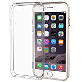 iPhone 6S Case, iPhone 6 Case, MoboZx [Premium Flexible] Crystal Clear Innovative Dotted-Buffer Transparent Protective Dual Layer Reinforced Shock-Proof Bumper Scratch-Resistant For Apple iPhone 6/6s