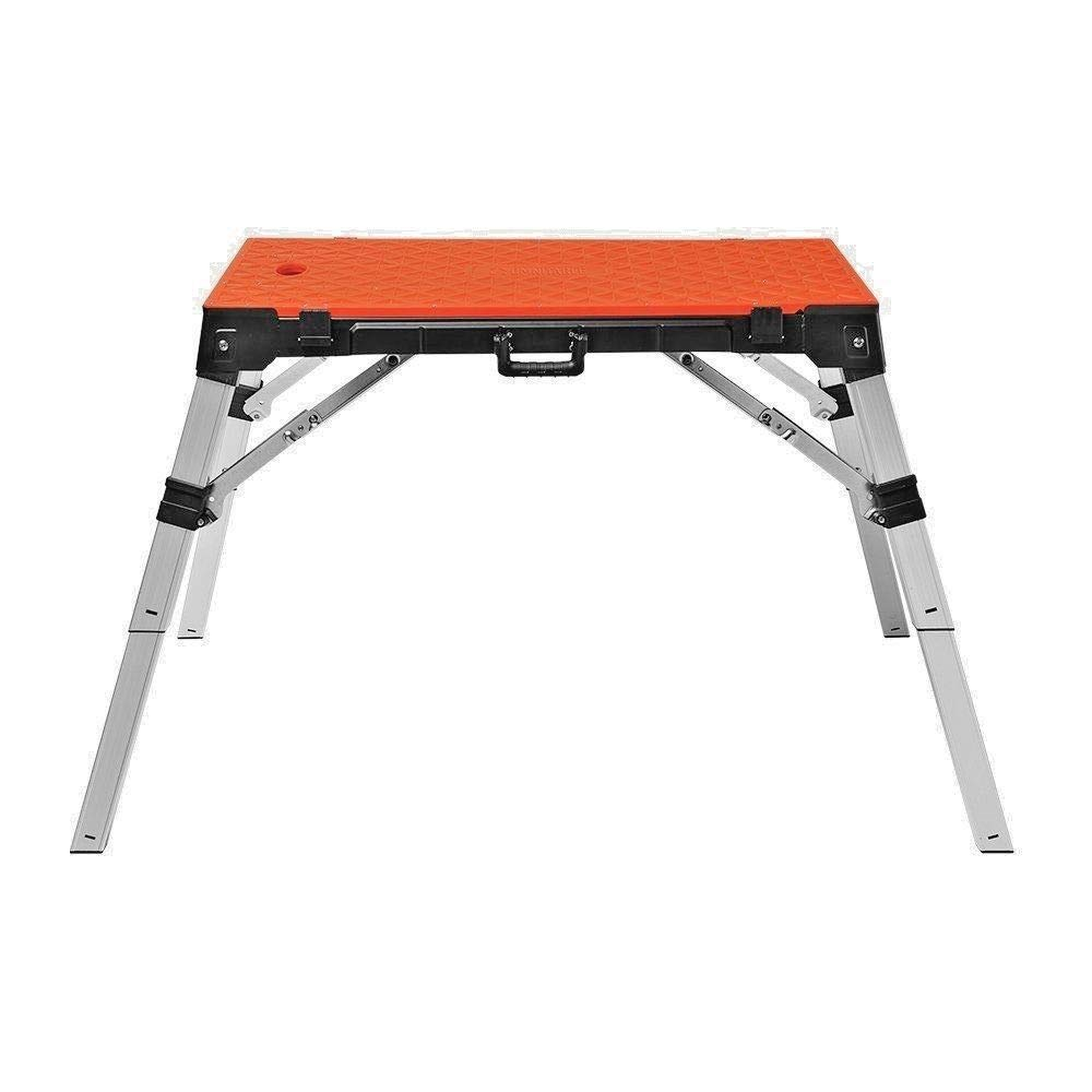 4 in 1 Multi-Function Portable Folding Work Bench-Workbench/Scaffold Platform/Creeper Carrier/Hand Truck