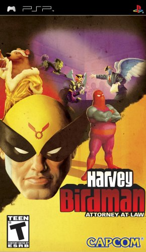 Harvey Birdman: Attorney at Law - Sony PSP