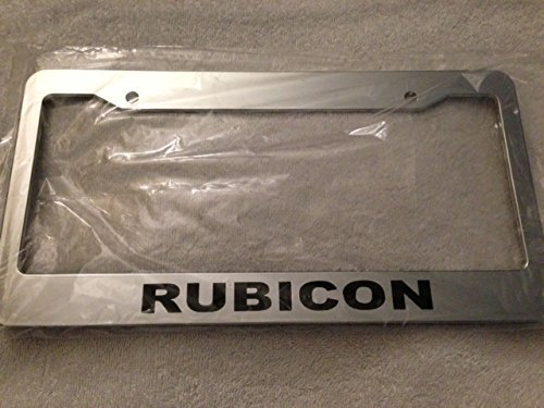 jeep rubicon license plate frame - 5