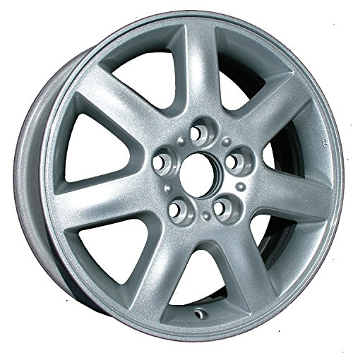 (2000-2004 AVALON 7 SPOKE SILVER WITH MACHINED OUTER LIP )