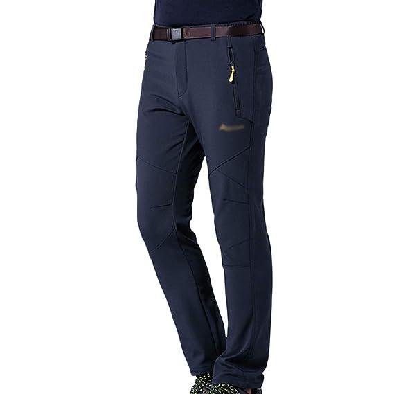 1585d334b3fe7 Tookang Imperméable Pantalon De Sport en Plein Air Pantalons d escalade  Couple Sportswear Poids Léger