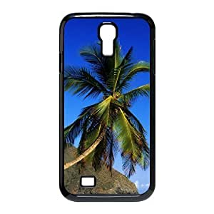 Coconut tree Custom Cover Case with Hard Shell Protection for SamSung Galaxy S4 I9500 Case lxa#487631