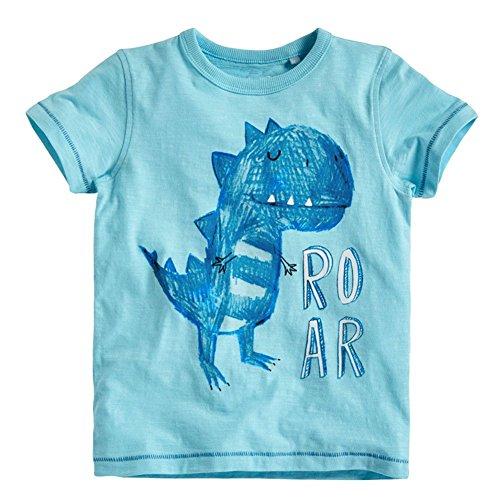 Soda Park Boys Funny Dinosaur Roar Graphic T Shirt