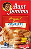#2: Aunt Jemima Pancake & Waffle Mix, Original Complete, 50 Servings Box