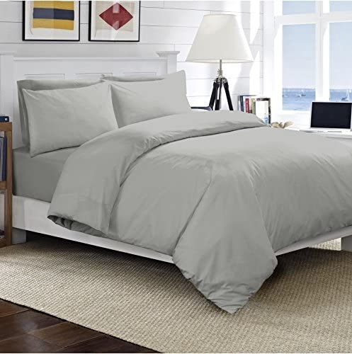 Juego de ropa de cama Linengalaxy con funda nórdica, algodón ...