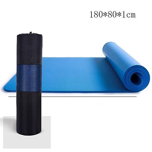 GONGFF Colchonetas Antideslizantes Yoga NBR Sin Sabor ...