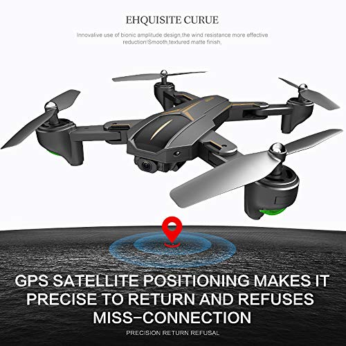 VISUO XS812 GPS 5G WiFi FPV 5MP 1080P HD Camera Foldable RC Quadcopter Drone by Sannysis (Image #6)
