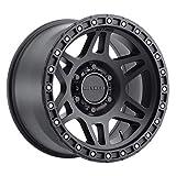 "Method Race Wheels 312 Matte Black 17x9"" 6x5.5"", 12mm offset 4.5"" Backspace, MR31279060512N"
