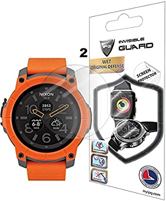 NIXON The MISSION Watch Screen Protector (2 Units) Invisible Ultra HD Clear Film Anti Scratch Skin Guard - Smooth / Self-Healing / Bubble -Free By IPG - 10155481 , B01MZ972U7 , 285_B01MZ972U7 , 386555 , NIXON-The-MISSION-Watch-Screen-Protector-2-Units-Invisible-Ultra-HD-Clear-Film-Anti-Scratch-Skin-Guard-Smooth--Self-Healing--Bubble-Free-By-IPG-285_B01MZ972U7 , fado.vn , NIXON The MISSION Watch Scree