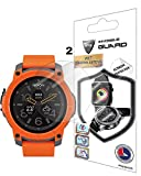 NIXON The MISSION Watch Screen Protector (2 Units) Invisible Ultra HD Clear Film Anti Scratch Skin Guard - Smooth / Self-Healing / Bubble -Free By IPG
