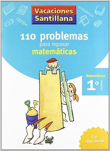 cuadernillo de vacaciones para  primaria  matemáticas