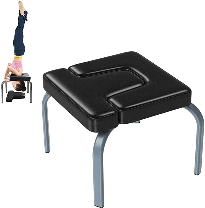 PRO Yoga Headstand Bench Inversion Chair Home Gym Fitness And Strength Training
