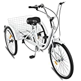 Adult Tricycles 7 Speed, Ljnuanrg Adult Trikes 3