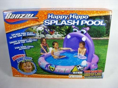 Happy Hippo Splash Pool