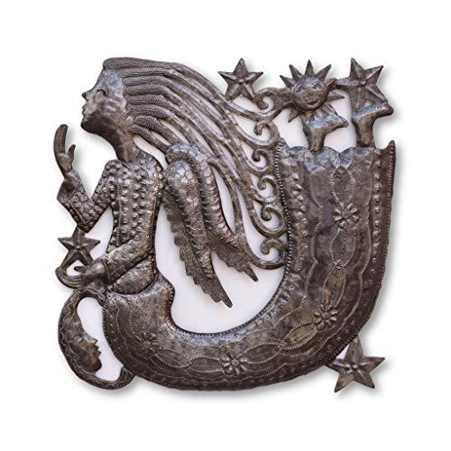 "Haitian Metal Art - Angel - 17"" x17"""