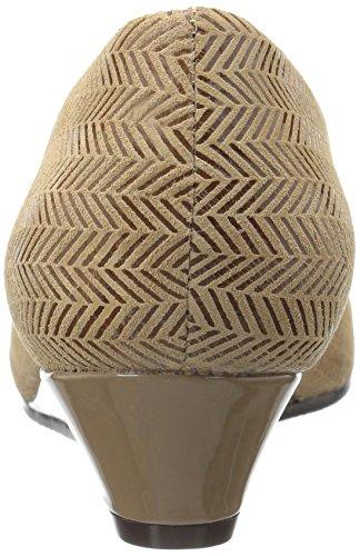 Trotters Women's Lauren Dress Wedge Taupe JhGVOSQS