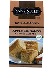 Sans Sucre Apple Cinnamon Coffee Cake, 8-Ounce (Pack of 6)