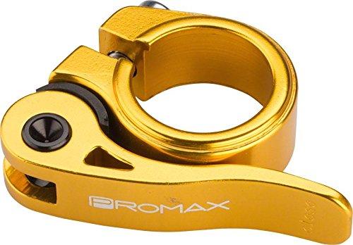 2019年最新入荷 Promax qr-1クイックリリース座席クランプ25.4 Promax MMゴールド MMゴールド B071HXGQQF B071HXGQQF, レナウンインクスショップ:8bfb72c7 --- arianechie.dominiotemporario.com