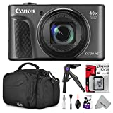 Canon PowerShot SX730 HS Digital Camera w/ Essential Photo and Travel Bundle