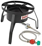 Bayou Classic SP10 High-Pressure Outdoor Gas Cooker, Propane (Lawn & Patio)