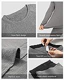 Thermal Underwear for Men Microfleece Lined Long