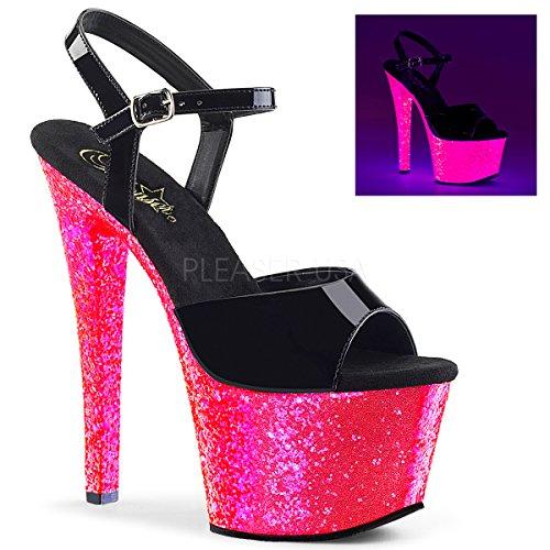- Pleaser Women's Sky-309UVLG Ankle-Strap Sandal