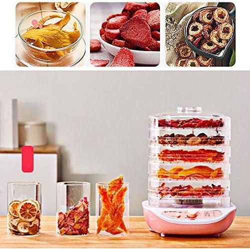 Nourriture Machine De DéShydrateur - 5 Couches/Hauteur RéGlable - Machine De SéChage De Viande D'Herbes De Fruits Et LéGumes - Pour La Maison Et Le Commerce