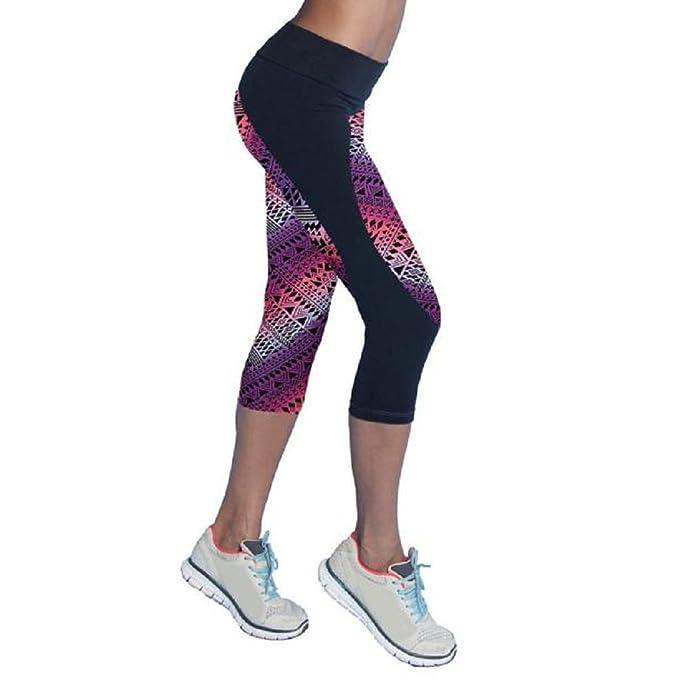 Sannysis Pantalones Mujer Deporte Yoga Pantalones Mallas para Mujer, Color