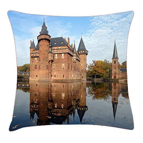HFYZT Android Best View Desktop Images Download Free Hd Wallpaper Landscape Places Pillow Case Pillowcase Cushion Shell 18