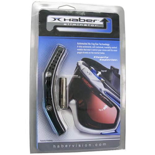 HaberVision Eliminator Auto No-Fog Fan for your goggle