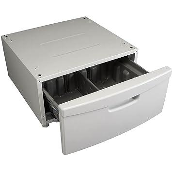 Amazoncom Samsung We357a0w 15 Laundry Pedestal With Storage