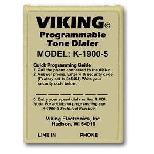 Touch Tone Dialer (VIKING ELECTRONICS VK-K-1900-5 / Viking Hot Dialer)