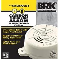 First Alert - Alarma de monóxido de Carbono (Funciona con Pilas), Resistente a Las alteraciones (Tamper Resistant), Mediano, 1.75