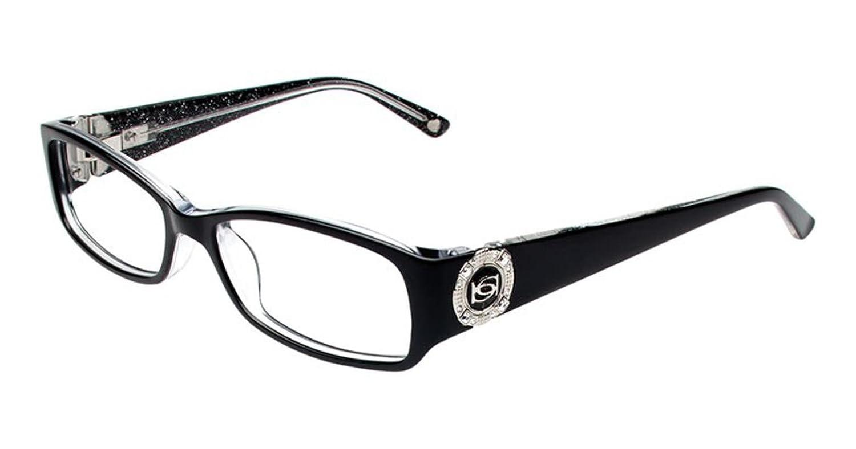 Amazon.com: Bebe GLITZY Eyeglasses BB5060 JET: Clothing