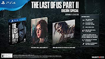 The Last of Us Part II  - Steelbook Limited Edition - PlayStation 4