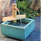 Bamboo Accents 7-in. Adjustable Spout and Pump Fountain Kit